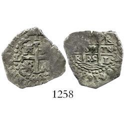 Lima, Peru, cob 1 real, 1685R.