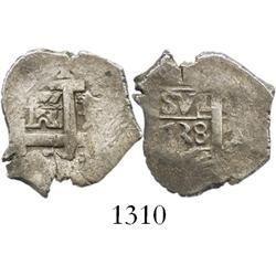 Lima, Peru, cob 1 real, 1738(N).