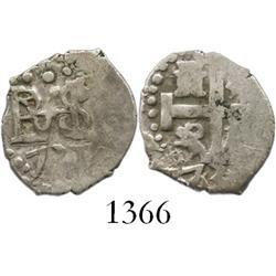 Lima, Peru, cob 1/2 real, 1731 (no assayer).