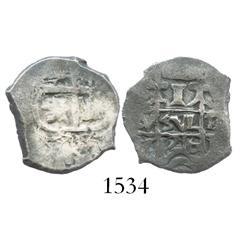 Potosi, Bolivia, cob 1 real, 1716Y.
