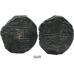 Seville, Spain, cob 8 reales, (16)34R.