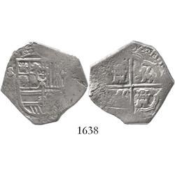 Seville, Spain, cob 4 reales, (16)02(B).