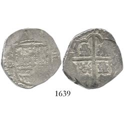 Seville, Spain, cob 4 reales, 1611B.