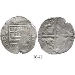 Seville, Spain, cob 4 reales, 1615V.