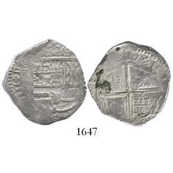 Toledo, Spain, cob 4 reales, 1622P.