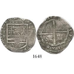 Toledo, Spain, cob 4 reales, 1626(?)P.