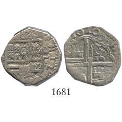Toledo, Spain, cob 2 reales, 1620P.