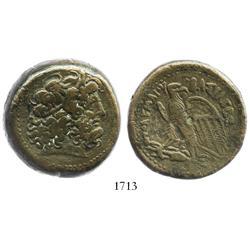 Ancient Egypt, bronze AE38, Ptolemy IV (221-205 BC), Alexandria mint.
