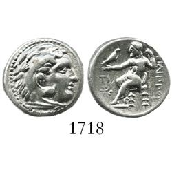 Kingdom of Macedon, Sardes mint, silver drachm, Philip III, 322-319/8 BC.