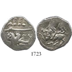 Byblos, Phoenicia, silver dishekel, Ainel, ca. 333 BC.