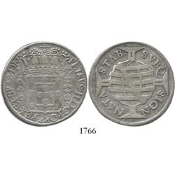 Brazil, 640 reis, 1697.
