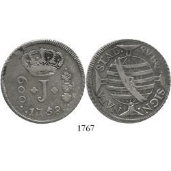 Brazil (Rio mint), 600 reis, 1758-R.