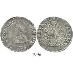 Metz, Lorraine, France, franc de 12 gros, 1661.