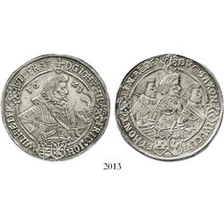 Saxe-Altenburg, Germany (Saalfield mint), thaler, Johann Philipp I and three brothers (Friedrich VII