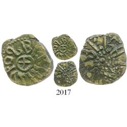 Anglo-Saxon England (Northumbria), bronze styca, Osbert (862-867 AD), moneyer Winiberht.