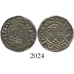 Anglo-Saxon England, penny, Edward the Confessor (1042-1066 AD), helmet type, York mint.