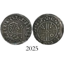 Anglo-Saxon England, penny, Edward the Confessor (1042-1066 AD), pyramids type, York mint.