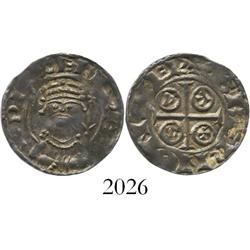 England, penny, William I (the Conqueror) (1066-1087), PAXS type.