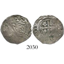 England, penny, Henry II (1154-1189), cross-and-crosslets (Tealby) issue, Class A (1158-63).