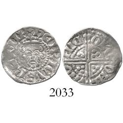England, penny, Henry III (1216-72), long cross type (1247-72).