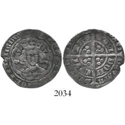 England, groat, Edward III (1327-77), 4th coinage (1351-77).