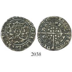 England, groat, Edward IV (first reign, 1461-70), mintmark rose (1468-9).