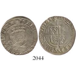 London, England, groat, Henry VIII (posthumous coinage), mintmark lis (1547-51).
