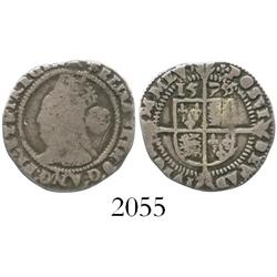 London, England, threepence, Elizabeth I,  third issue, 1576/5.