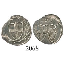 England (Commonwealth), half groat (1649-60).