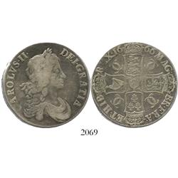 London, England, crown, Charles II, 1666.