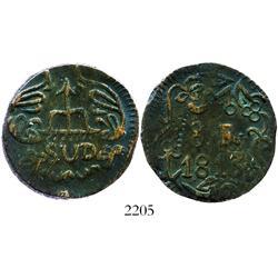 Oaxaca (Morelos/SUD), Mexico, copper 8 reales, 1813.