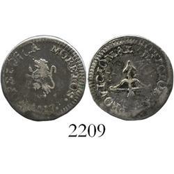 Oaxaca (Morelos/SUD), Mexico, silver 1/2 real, 1813.