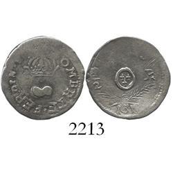 Sombrerete (Vargas), Mexico, 1/2 real, Ferdinand VII, 1812.