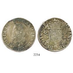 Overijssel, Spanish Netherlands, philipdaalder, Philip II, 1563.