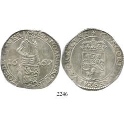 Westfriesland, United Netherlands, silver ducat, 1662.