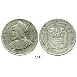 Panama, 50 centesimos, 1904.