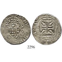Lisbon, Portugal, half cruzado (200 reis), John IV (1640-57).