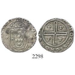 Porto, Portugal, tostao (100 reis), John IV (1640-57).