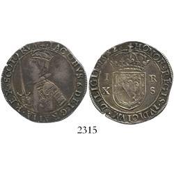 Scotland, 10 shillings, James VI, 1582.