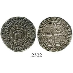 Seville (Castile & Leon), Spain, 1 real, Pedro I (the Cruel) (1350-69).