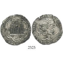 Seville (Castile & Leon), Spain, billon 4 maravedis, Pedro I (the Cruel) (1350-69).