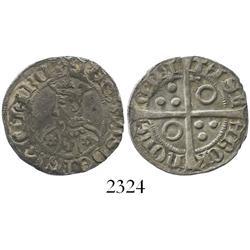 Barcelona (Catalunya), Spain, croat, Pedro III (IV of Aragon) (1387-96).