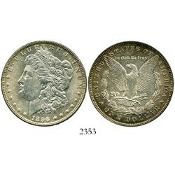USA (Philadelphia), $1 (Morgan), 1896.
