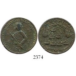 Great Britain, copper Admiral Vernon medal, Porto Bello (1739), scarce smaller size.