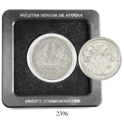 "USA, silver ""divers commemorative"" medal, 1985, presented to Mel Fisher's divers on the Atocha (1622"