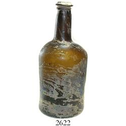 English ale bottle, ca. 1780.
