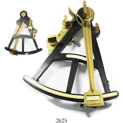 Mariner's octant by Walker (London), late 1700s-early 1800s, excellent condition.