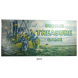 """Sunken Treasure"" board game by Parker Brothers (USA)."