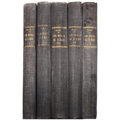 Dasi, Tomas. Estudio de los Reales de a Ocho, 5 volumes (1950-1), rare.