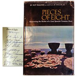 Wagner, Kip (with L.B. Taylor, Jr.). Pieces of Eight (1966 1st ed), autographed by all 10 Real Eight
